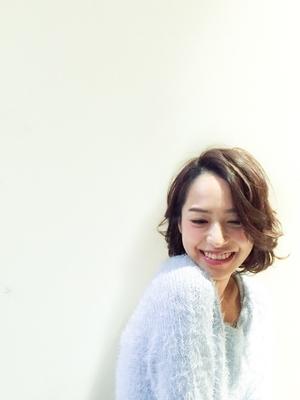 LIBERTY-H勝どき店蛯名祥美☆かきあげ前髪外人風ヘア