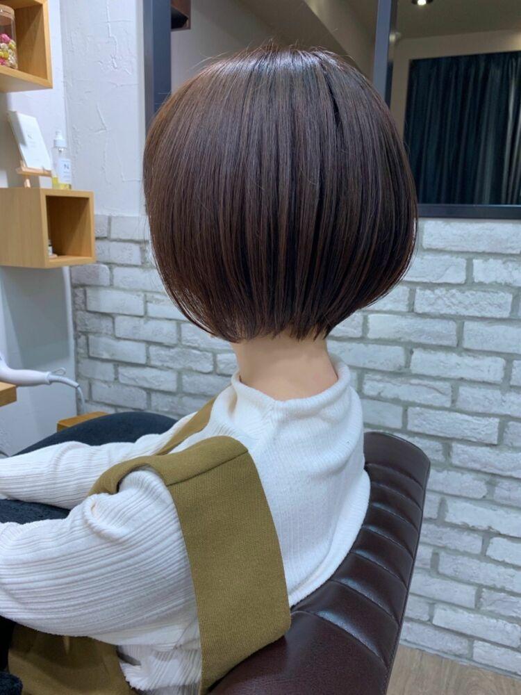 ショート ボブ mag ginza 安藤渉 ショートパーマ