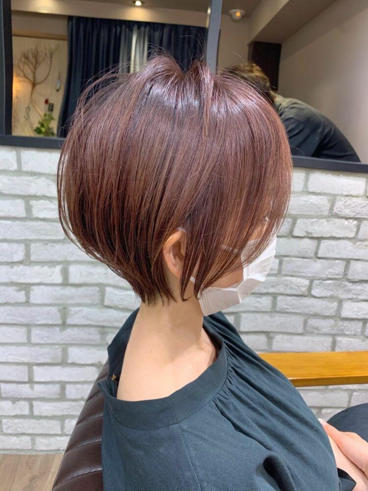 秋カラー 30代40代mag ginza 安藤渉大人ショート