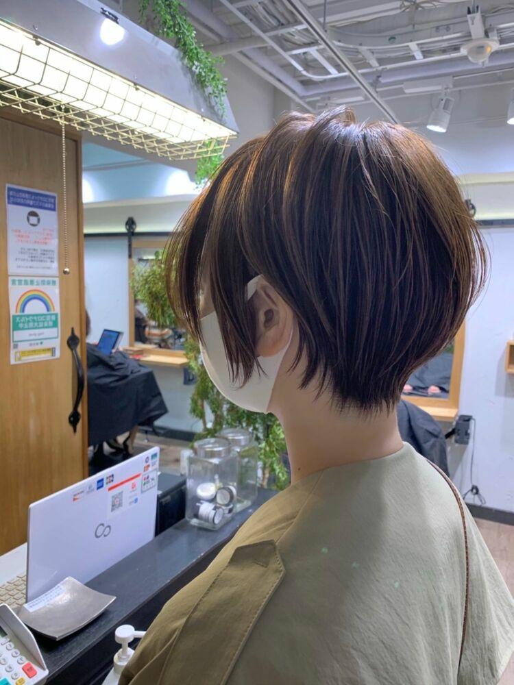 クールショート 大人ショート mag ginza 安藤渉30代40代
