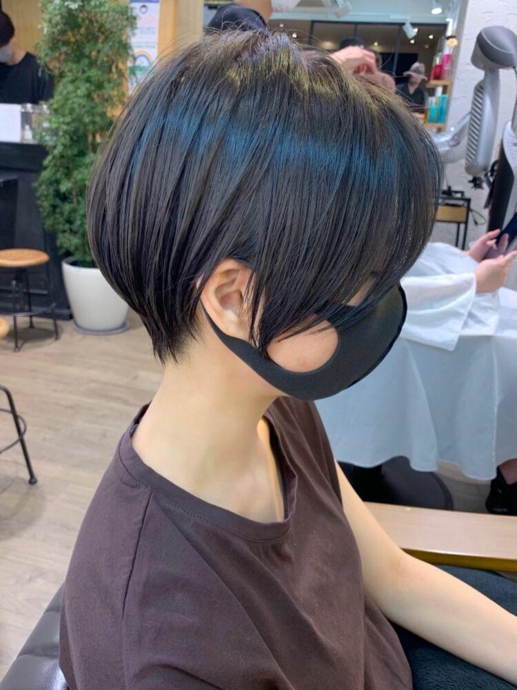 艶髪 濃いブルーアッシュ 30代40代mag ginza 安藤渉