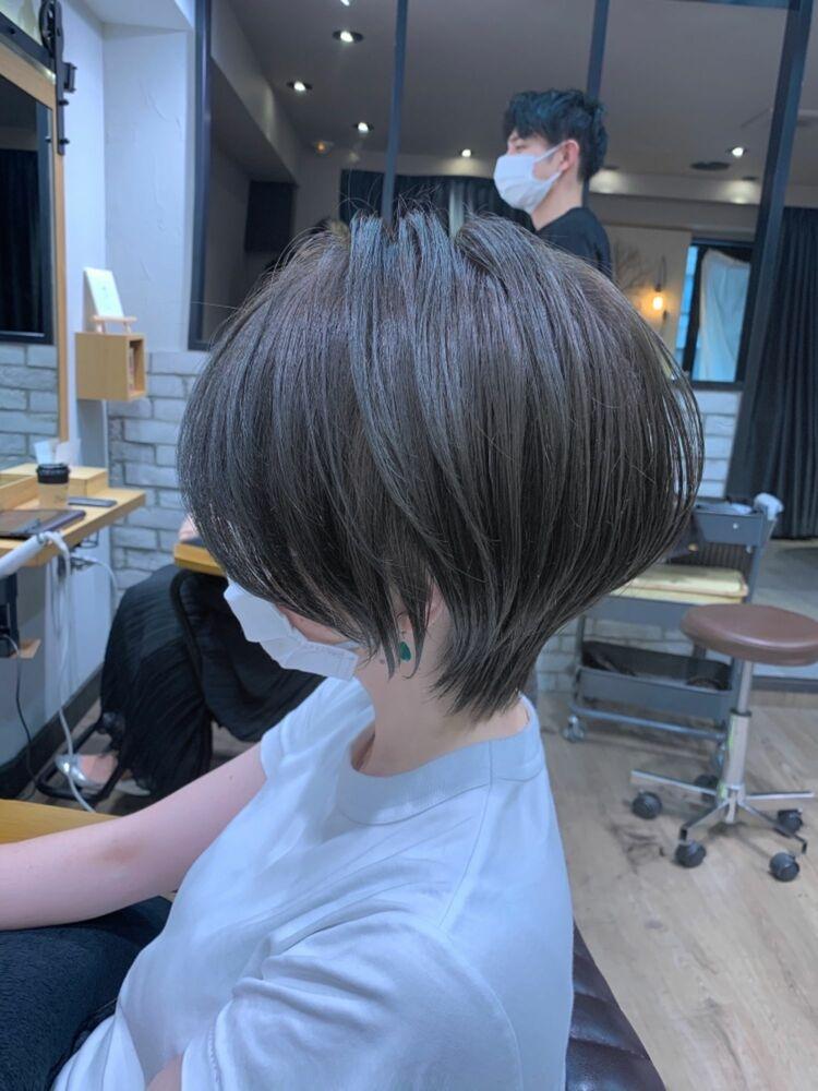 美シルエット 30代40代mag ginza 安藤渉スモーキーカーキ