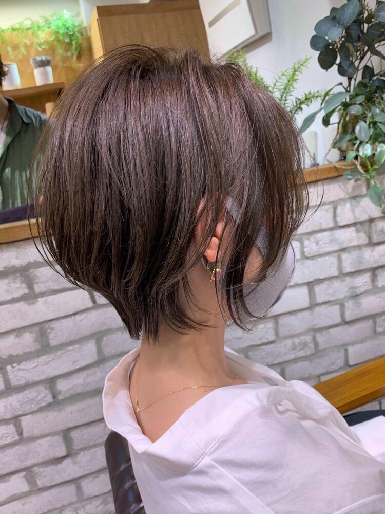 大人ショート 30代40代mag ginza 安藤渉
