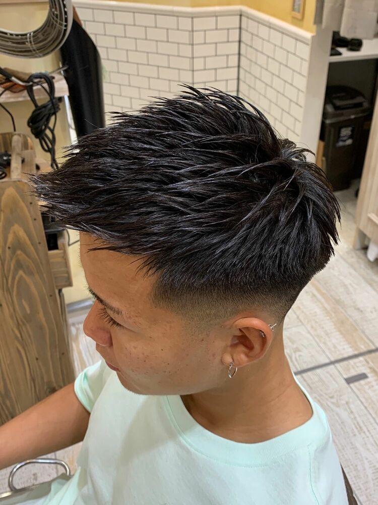 髪型がきまれば全て上手くいく。GROOME/S TOKYO 日本トップレベルフェードカット!