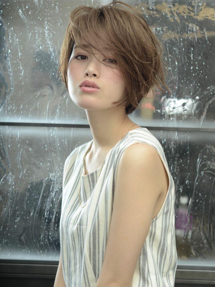 MINX銀座五丁目店銀座駅徒歩10秒/代表花渕慶太/ショート、ボブのカットならお任せを。
