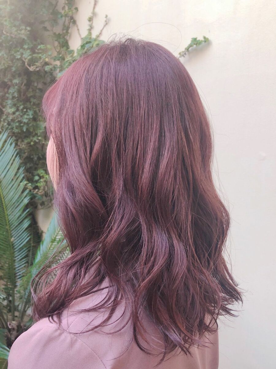 春色・ピンクカラー