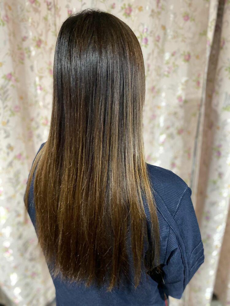 髪質改善トリートメント 草木染めヘナ