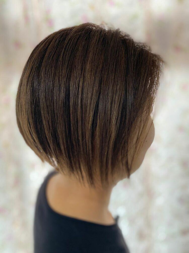 ブリーチ毛に髪質改善トリートメント