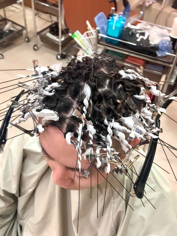 針金ツイストスパライラル HOMME HAIR4 KENSHiRO