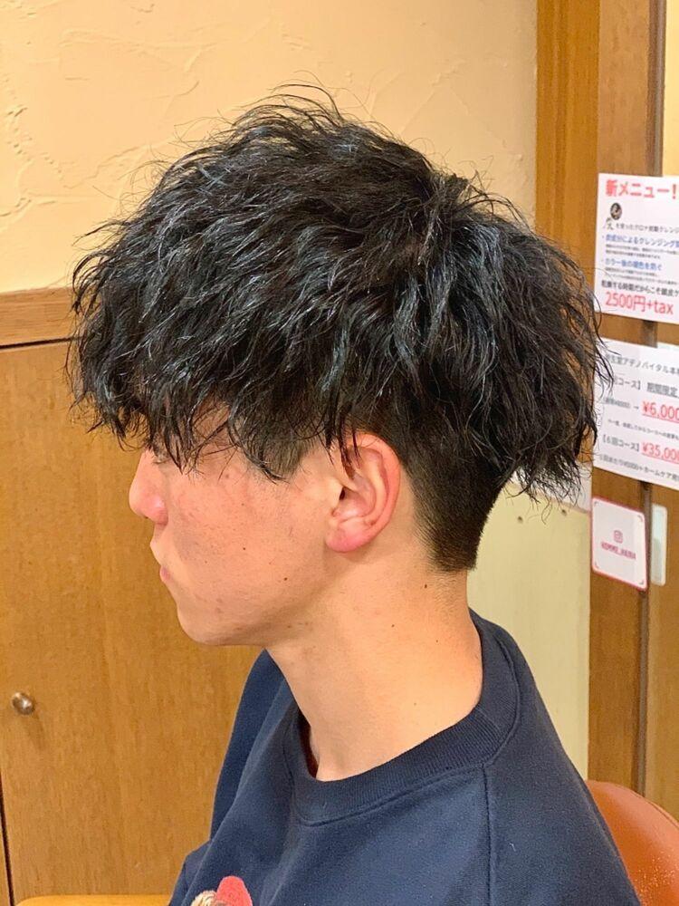 ツイスパ刈り上げマッシュ HOMME HAIR4 KENSHiRO