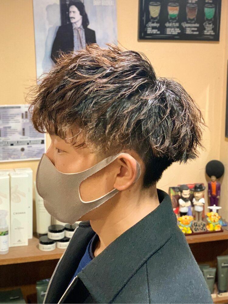 ツイストスパイラルパーマ HOMME HAIR4  KENSHiRO