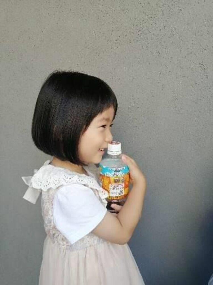 キッズカット!ボブスタイル★夏の麦茶も一緒に!髪の毛も、水分補給しませんか?