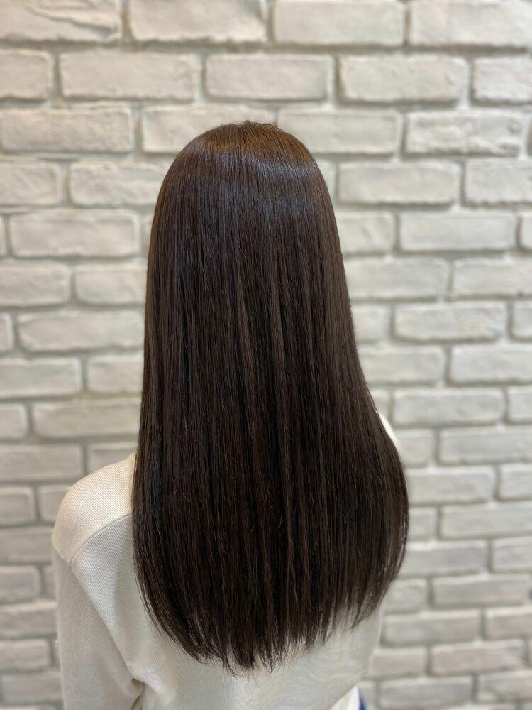 髪質改善カラー×ラベンダーアッシュ♪