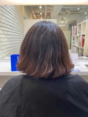 広がり.ダメージ毛×髪質改善トリートメント♪