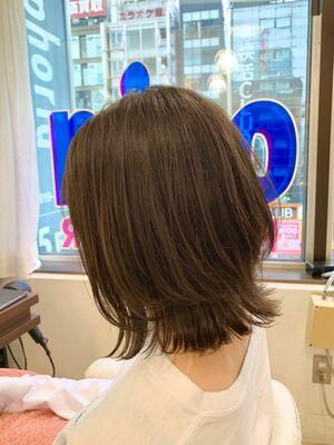 ✔︎Euphoria新宿店/宮田真白✔︎硬毛でも柔らかさにこだわったくびれボブ🍃
