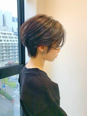 襟足スッキリ☆ゆとりハンサムショート♪