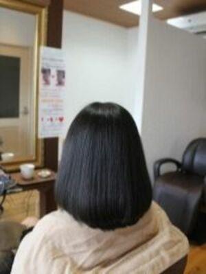 多毛&硬毛&太い髪でも柔らかくしなやかな髪になるココナッツ矯正☆