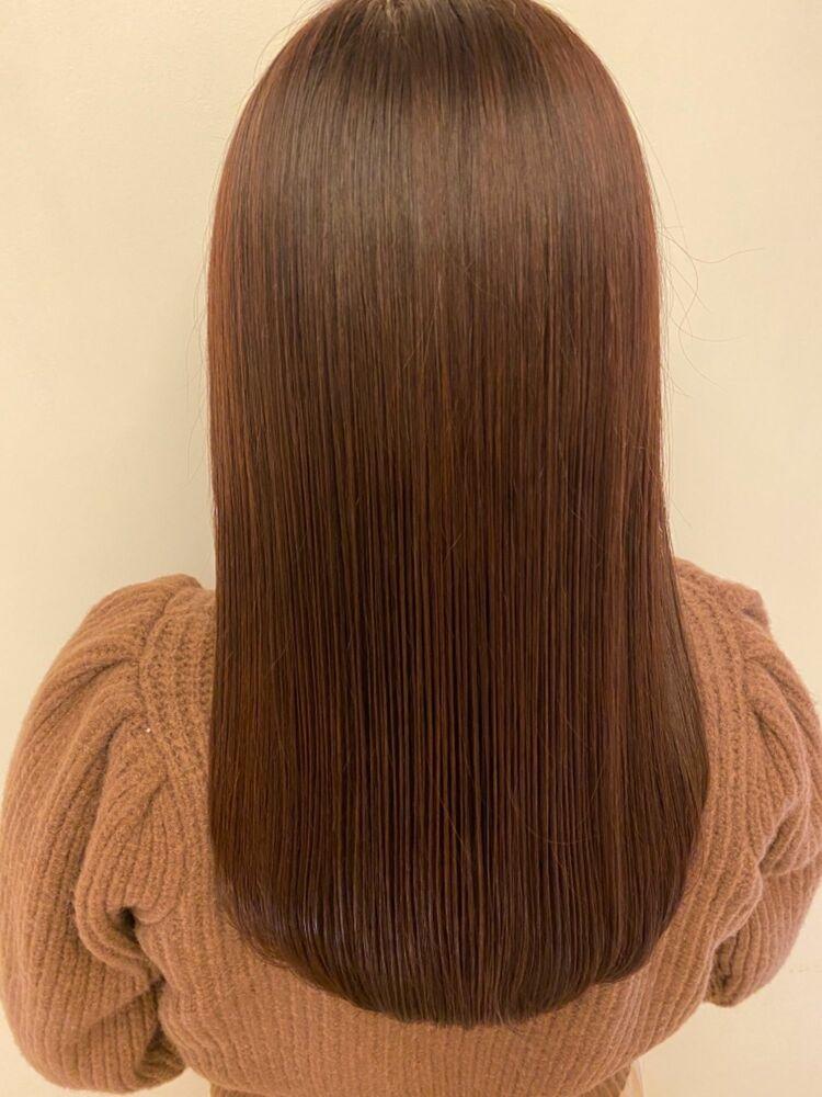艶髪モカブラウンカラー