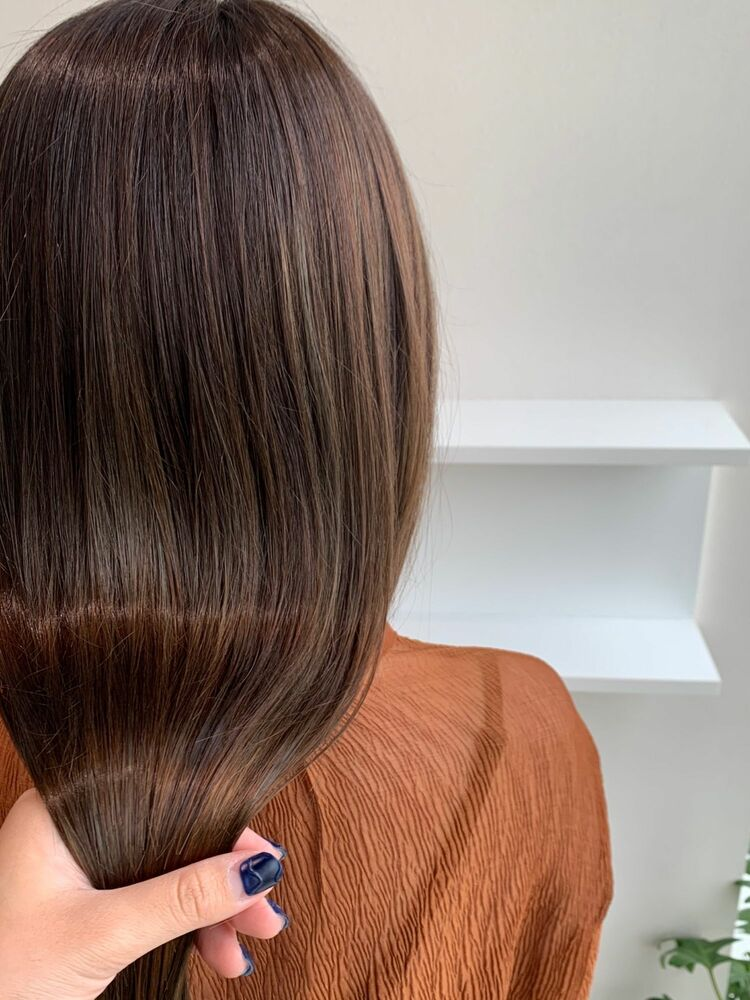 髪質改善でもっちりつや髪!