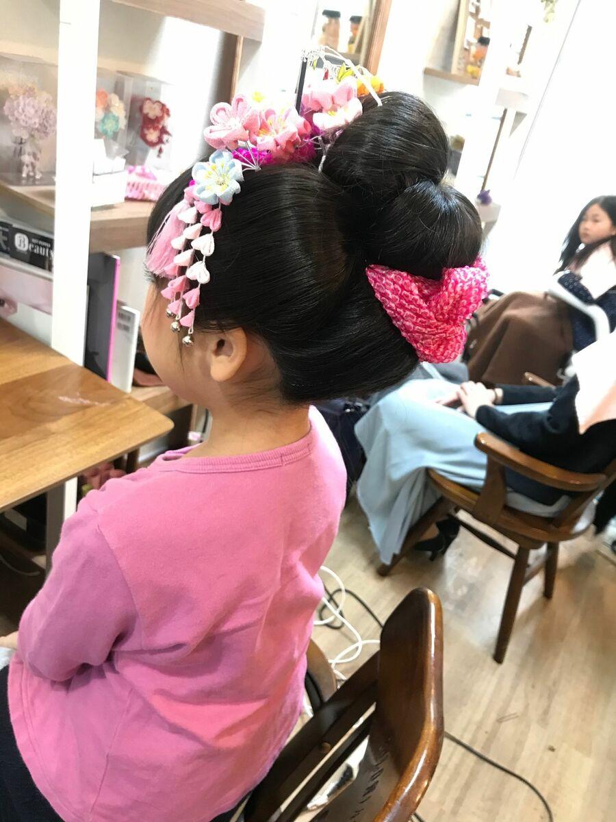 七五三日本髪