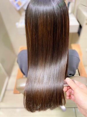 髪質改善トリートメントでサラツヤ髪へ!エイジング毛にオススメ