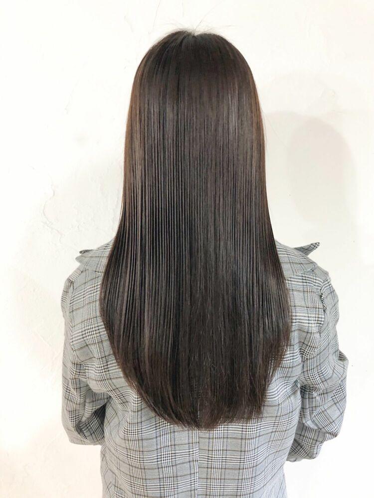 艶髪ストレート縮毛矯正