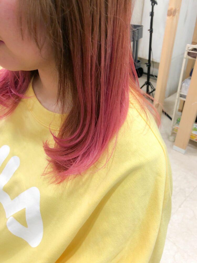 桜ピンクカラー