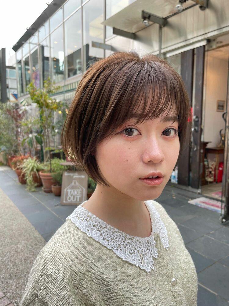 モテ髪ショート女子『〜オシャレはえり足が大事〜』