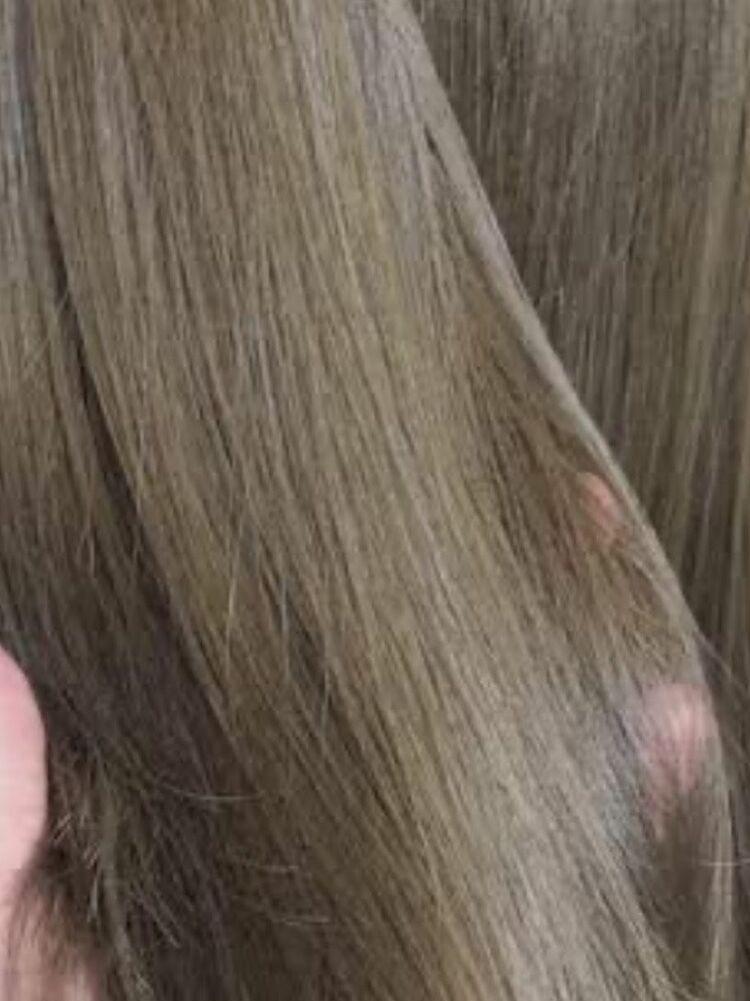 髪質改善矯正ストレート