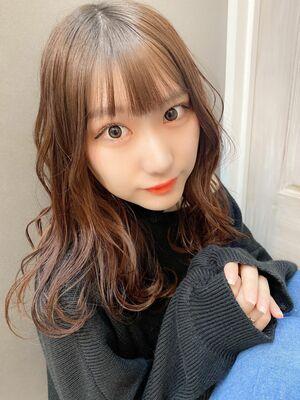 錦糸町春カラーピンクブラウンヘア