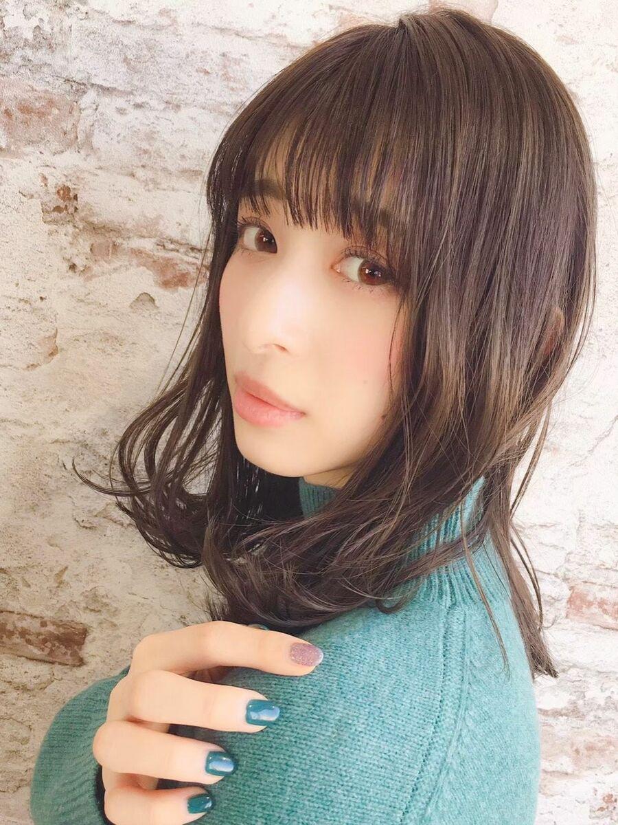 錦糸町!!アッシュカラーと柔らかなふんわりモテ髪パーマ