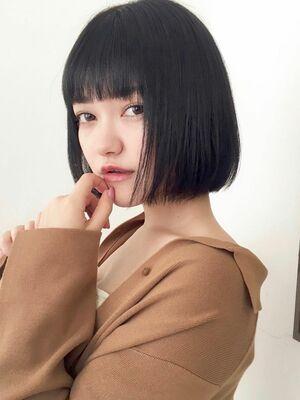 ベイビーボブ×ブルーブラックk.e.y原宿/表参道instagram:mao_k.e.y0807_