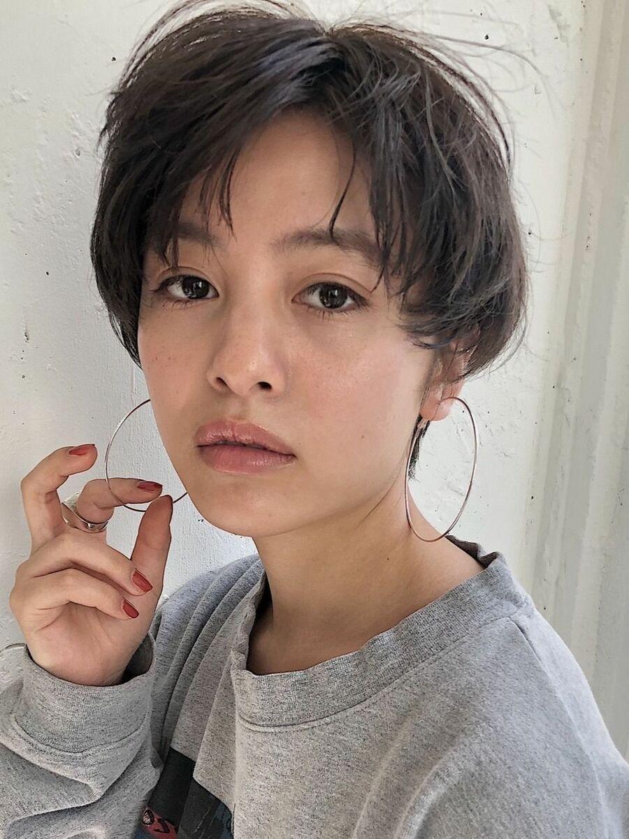 マッシュショートk.e.y原宿表参道instagram:mao_k.e.y0807_