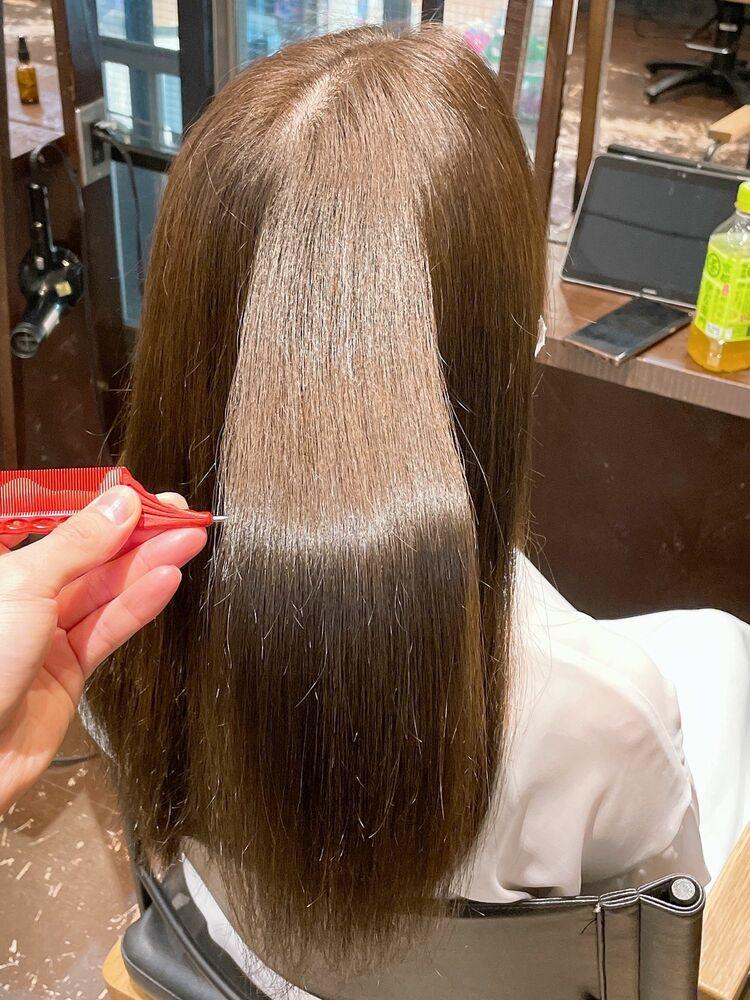 髪質改善ストレートで毎日を楽に!
