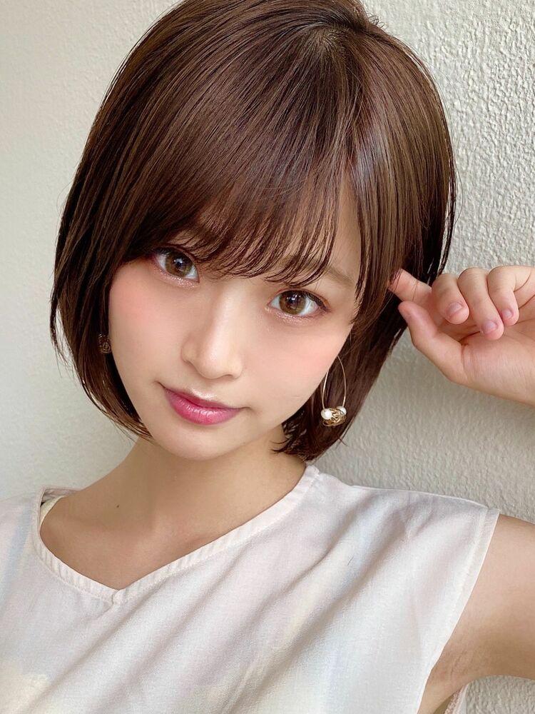 AFLOAT/表参道/ひし形ショート/20代/30代/艶感