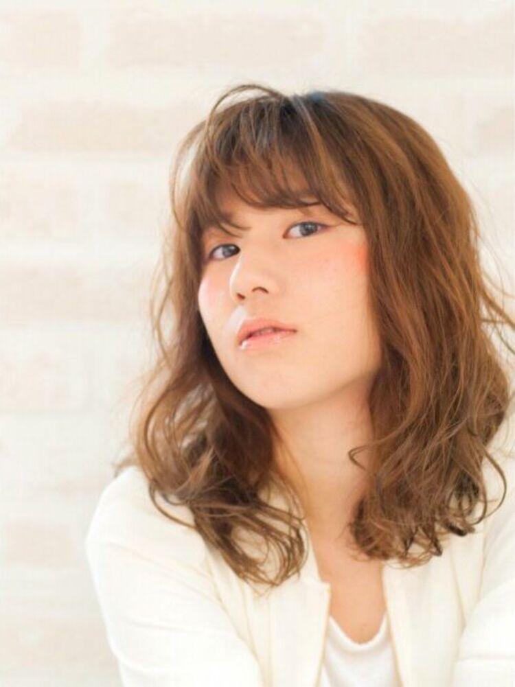 Richer hairsalon リシェル渋谷-高野章  セミウエットなラフパーマ