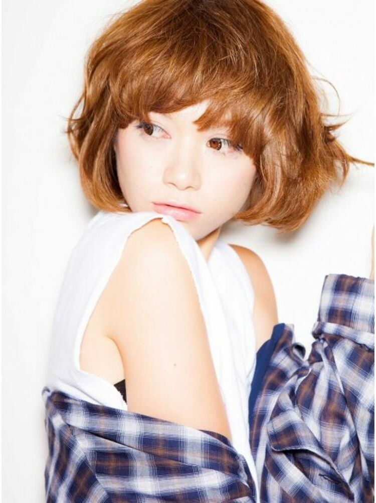 Richer hairsalon リシェル渋谷-高野章  キメ過ぎないマッシュショート♪