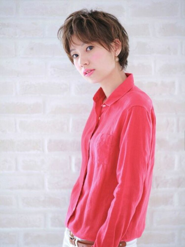 Richer hairsalon リシェル渋谷-高野章  ハンサムなショートstyle