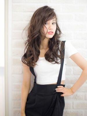 Richer hairsalon リシェル渋谷-高野章  ショートバング×ウェーブ