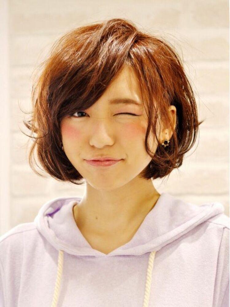 Richer hairsalon リシェル渋谷-高野章  短すぎないアクティブショートボブ