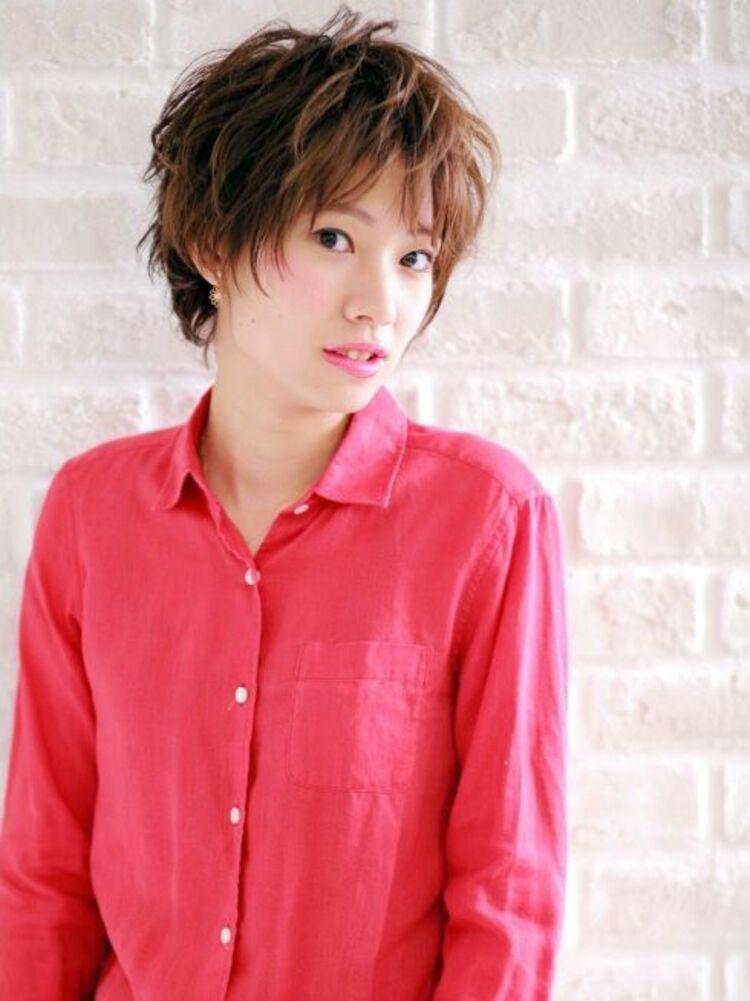 Richer hairsalon リシェル渋谷-高野章  ミックスショートstyle