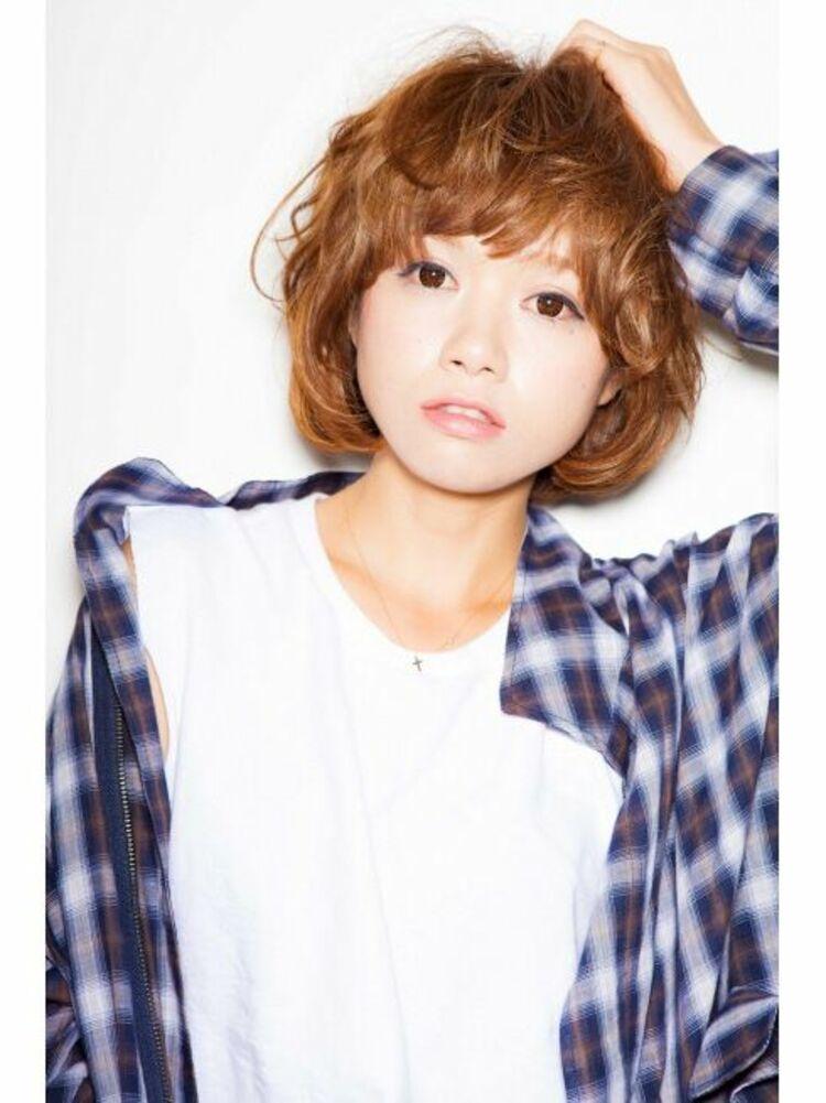 Richer hairsalon リシェル渋谷-高野章  クシャクシャ感が可愛いショートヘア☆