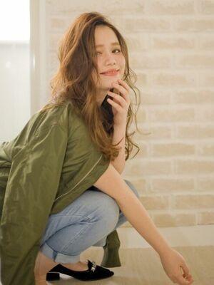 Richer hairsalon リシェル渋谷-高野章  かきあげ&ラフ