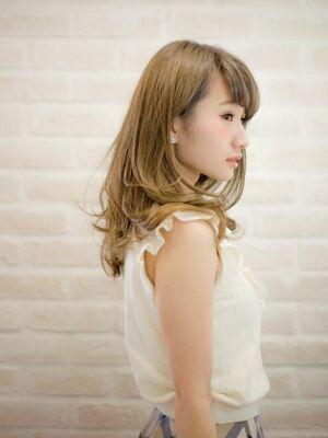 Richer hairsalon リシェル渋谷-高野章  ブリーチベージュ