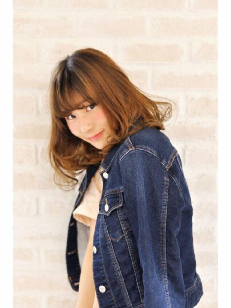 Richer hairsalon リシェル渋谷-高野章  ウエットなウエーブミディ