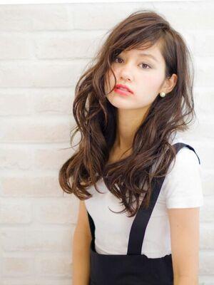 Richer hairsalon リシェル渋谷-高野章  ショートバング×ウエーブ