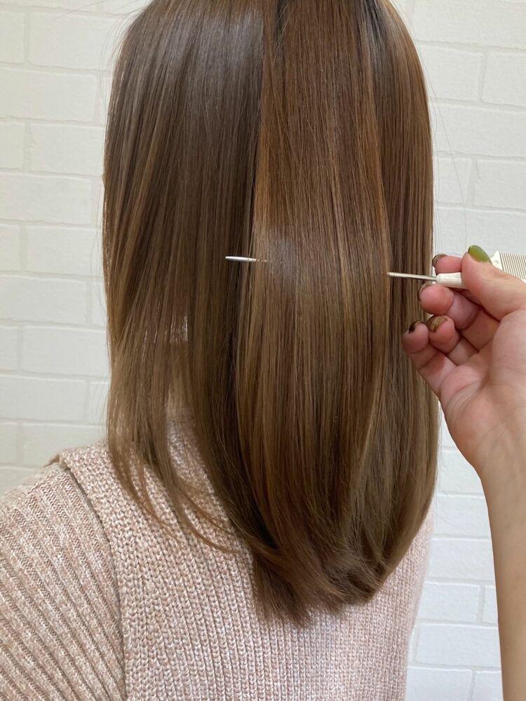 髪質改善トリートメントで絹のような髪に☆大人の髪質改善!