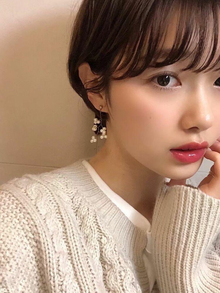 表参道Lond 津賀雅也 可愛い前髪!ショートボブ