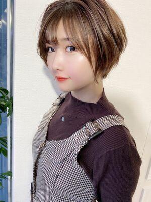 表参道Lond 津賀雅也 大人美人ショートヘアー