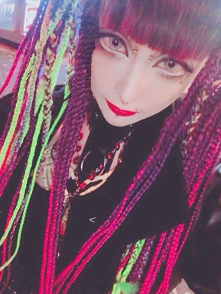Gothic braids